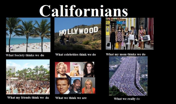 Haha. So true. I do not define the state by some of those weird celebrities.