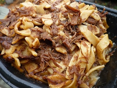 Amish style beef-n-noodles