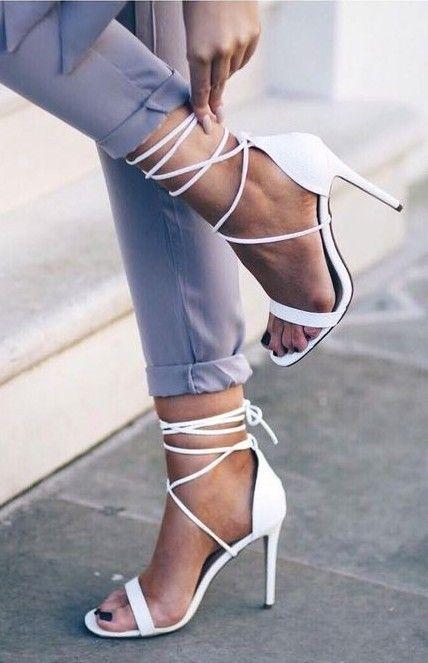 White Lace Up Heels Source - shoe dept shop online, buy ladies shoes  online, shoes come *ad