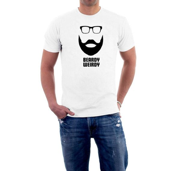 Seems that facial #hair is the In-Thing at the moment. You can't watch a TV ad without seeing some face #fuzz and look at all those #Hipsters in town !  It doesn't suit everyo... #beard #moustache #glasses #hipsters #fashion #funny #style #cotton #slimfit #skinny #tee