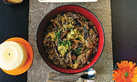 Espagueti con crema y champiñones: A Recipe, Recetas Colombianas, With Cream, Champiñones, Recetas Especiales, Spaghetti With, Kitchen