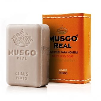 Musgo Real Men's Body Soap - Orange Amber - Claus Porto - 160g £4.31