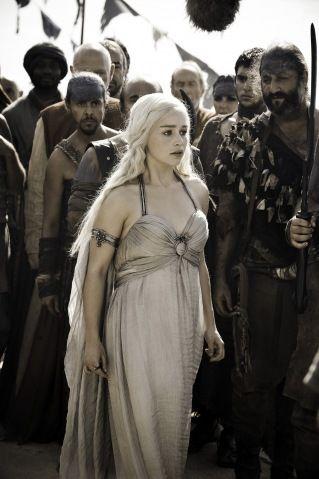 Game of Thrones. She is my favorite character.: Wedding Dressses, Dresses Style, Daenerys Targaryen, Winter Is Coming, Daenerystargaryen, Games Of Thrones, Dreams Dresses, The Dresses, Emilia Clarks