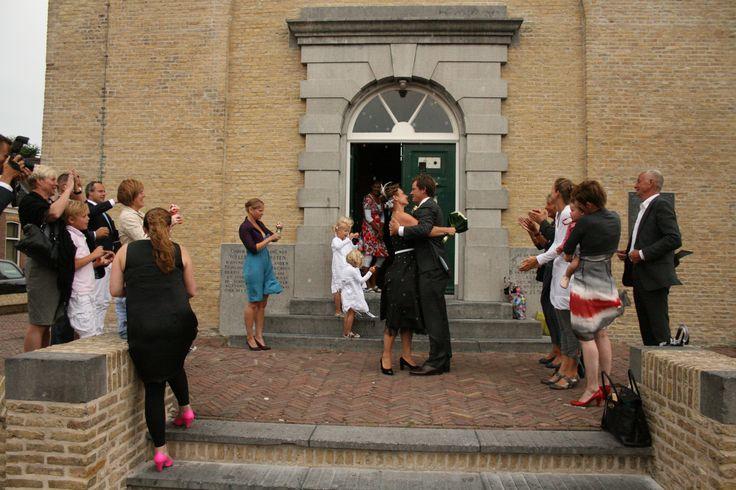Wedding on the island Terschelling, The Netherlands