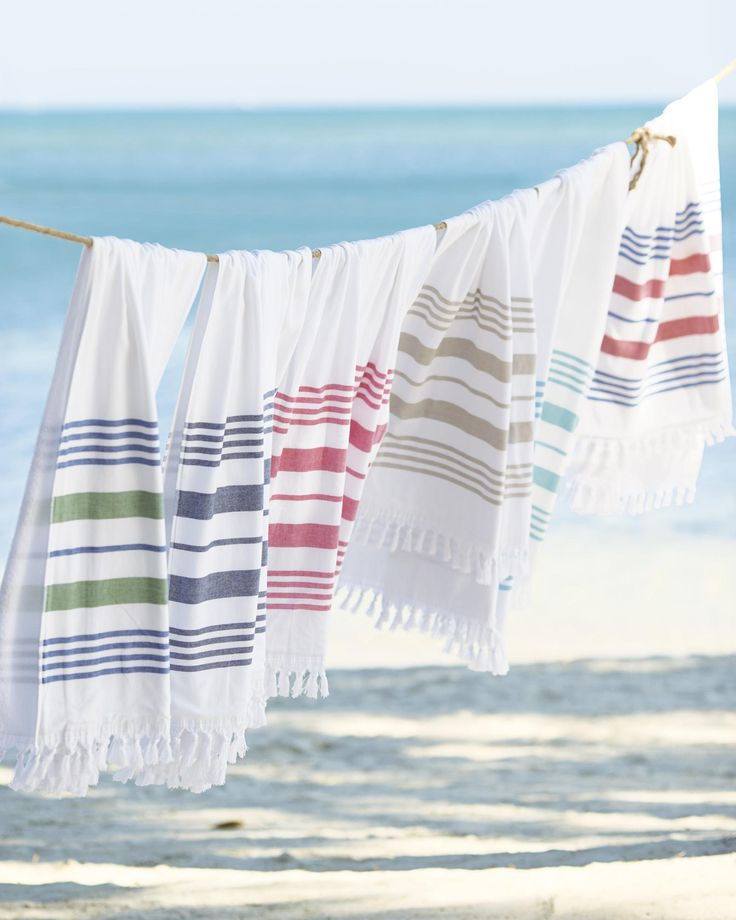 See the beauty in the everyday. Fouta Beach Towel. #serenaandlily