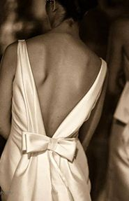 Amazing back by @Vassilis Zoulias Vassilis Emmanouel Zoulias - Sheath wedding dress