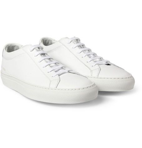 COMMON PROJECTS /// ORIGINAL ACHILLES LEATHER LOW TOP SNEAKERS