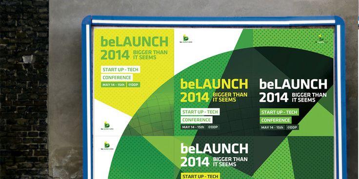 """스타트업 컨퍼런스 'beLAUNCH 2014(비런치 2014)' 브랜드 디자인Project Description비런치(beLAUNCH)는 대한민국 스타트업의 성공적인 글로벌 진출을 돕기 위해 탄생한 국내 최대 규모의 스타트업 컨퍼런스입니다. 스타트업 미디어인 비석세스(beSUCCESS)에서 주최하고 있으며, 올해로 3번쨰를 맞아 점차 행사의 규모가 커지며 국내외 스타트업계 종사자와 투자자 그리고 정부 관계자들이 관심을 갖는 행사이기도 합니다. 가지공장에서는 이번 비런치 2014의 전체 브랜드 디자인을 맡아 컨퍼런스 컨셉부터 행사 디자인, 각종 편집물, 웹 디자인을 맡아 진행하였습니다. 특히, 컨퍼런스 주제로 """"작지만 강한 스타트업의 저력(bigger than it seems""""을 제안하여, 포스터를 여러개 합치면 숨겨진 원이 보이는 독특한 아이디어까지 연결하였습니다. 가지공장은 비런치 2014를 넘어, 2014년 9월 미국 샌프란시스코에서 열리는 비글로벌(beGLOBAL)…"""