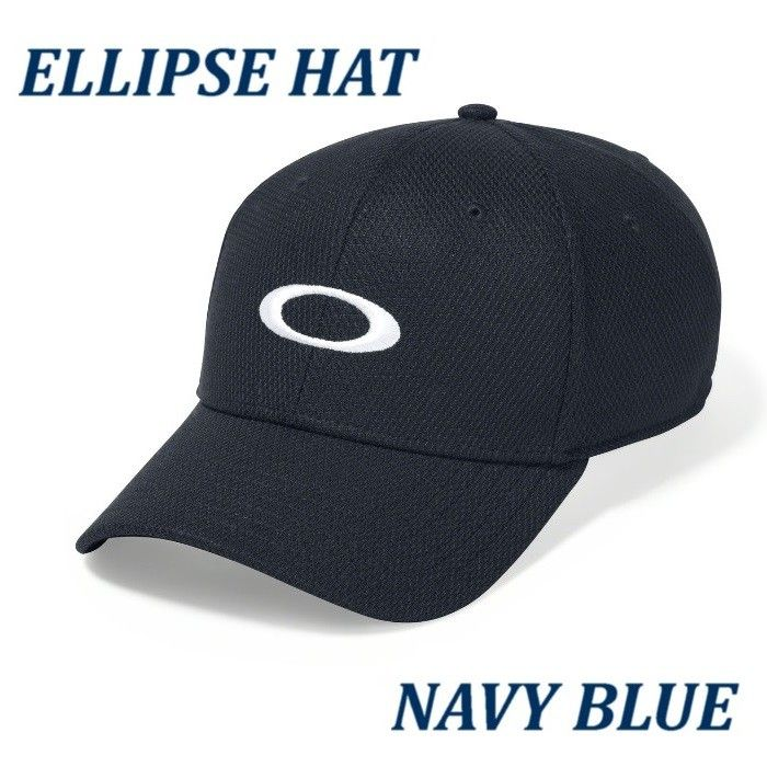OAKLEY GOLF ELLIPSE HAT NAVY BLUE - 91809-60B