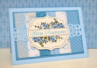 Stampin' Up! Apothecary Art - By Rochelle Blok with lace border