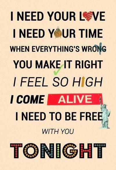 I Need Your Love Calvin Harris Feat Ellie Goulding Songlyrics