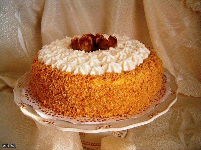 Медовый торт сладкий вечер