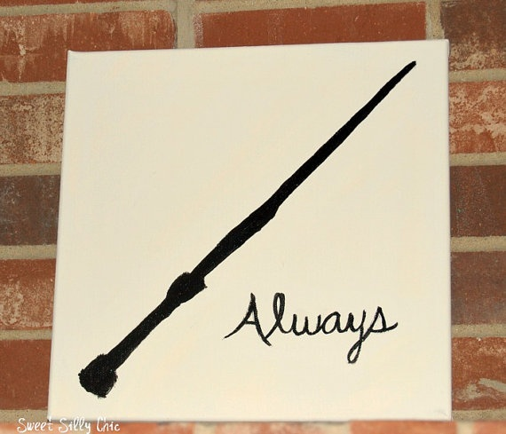 Harry Potter Canvas Painting Ideas
