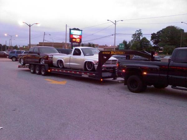 Kaufman Two Car Hauler Gooseneck All Loaded Up And Ready To Go