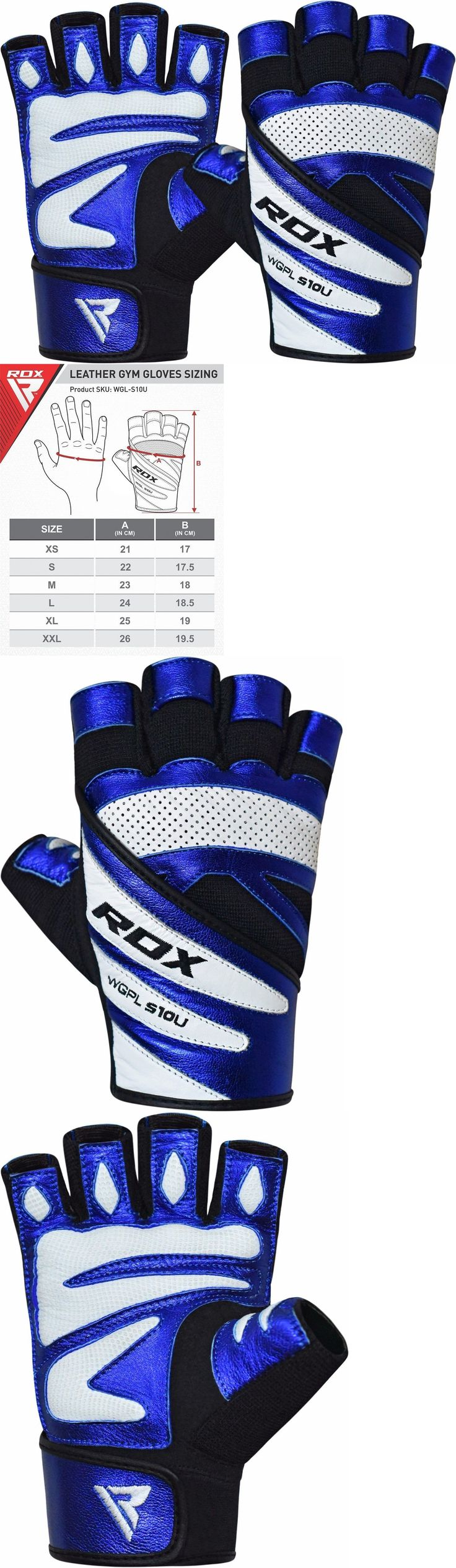 Gloves Straps and Hooks 179820: Rdx Weight Lifting Gloves Fitness Gym Crossfit Bodybuilding Training Workout BUY IT NOW ONLY: $37.49