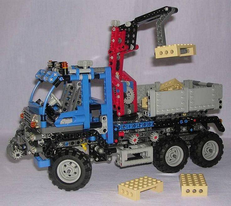Plus de 25 id es uniques dans la cat gorie camion lego - Camion benne americain ...