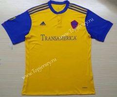 2017-18 Colorado Rapids Away Yellow Thailand Soccer Jersey