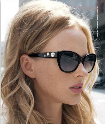 6b633313eeda Chanel cat-eye sunglasses