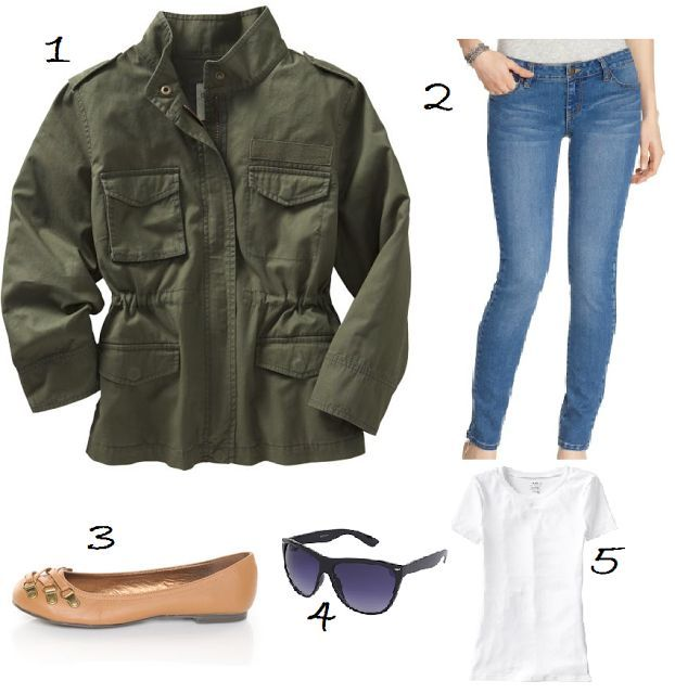36 best images about Army green jacket outfits on Pinterest