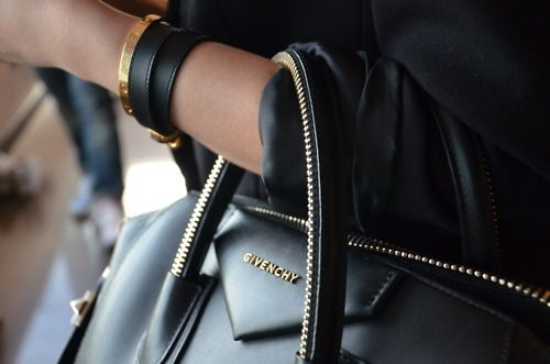 Smooth GIVENCHY leather