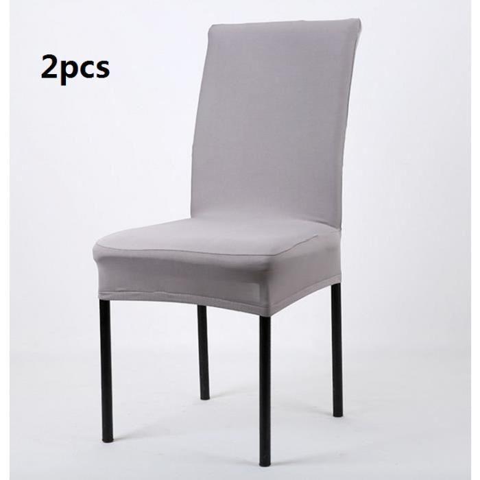 Matériel: extensible Tissus: fibres élastiques de polyuréthane (spandex) Catégorie: Housse de chaise Scène applicables: Hôtels