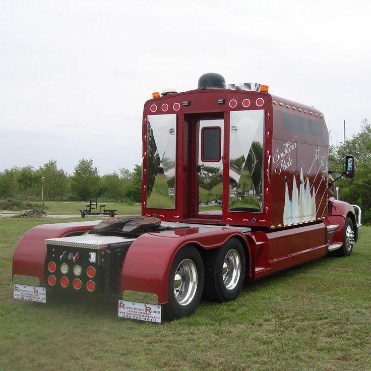 17 Best Ideas About Custom Big Rigs On Pinterest Semi Trucks Custom Peterbilt And Peterbilt