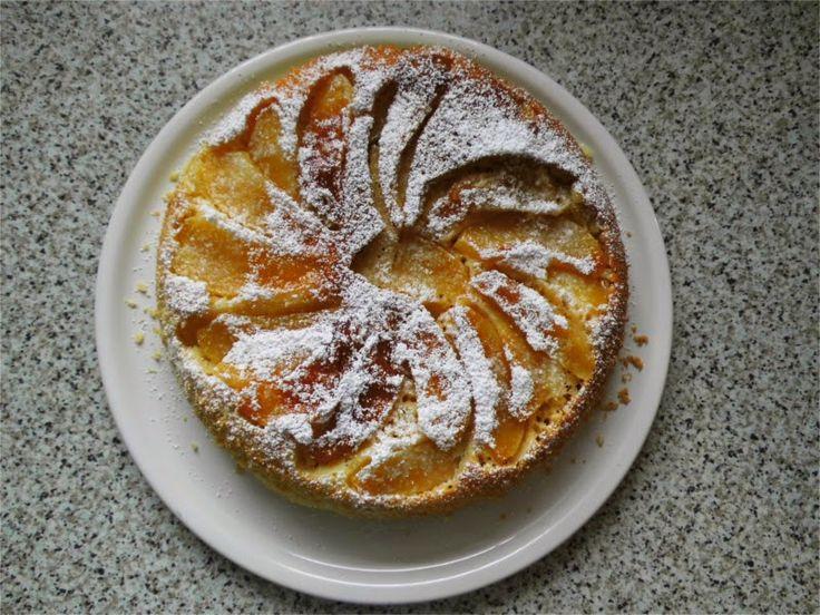 Apfelkuchen aus der Pfanne - frisch gebacken und super lecker!