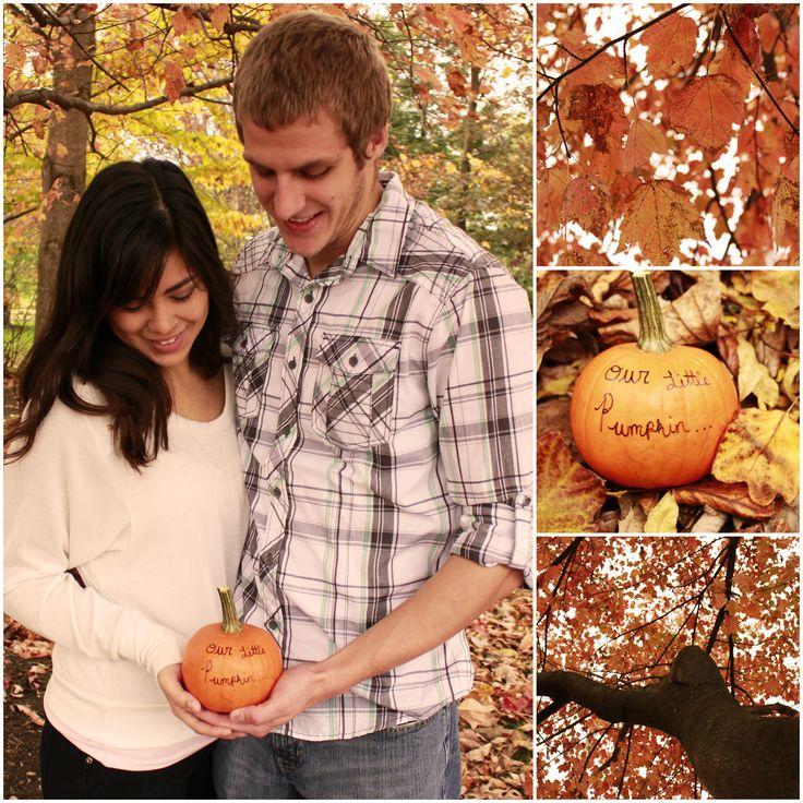 Our #fall #pregnancy #announcement.