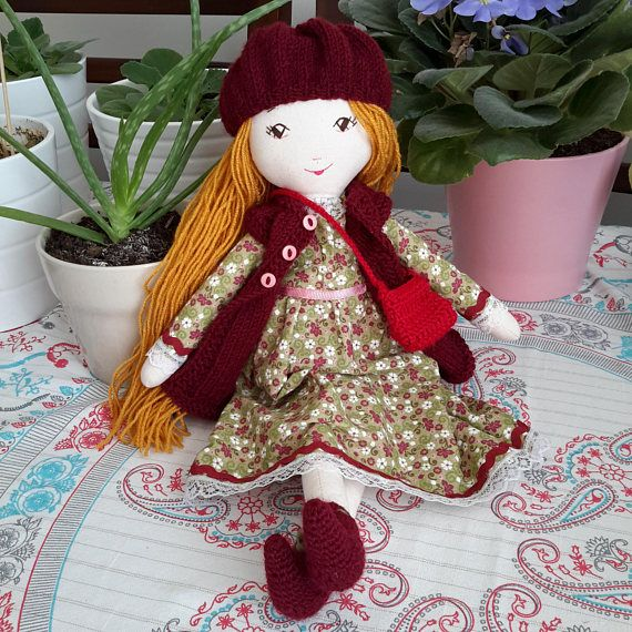 Check out this item in my Etsy shop https://www.etsy.com/listing/567554288/handmade-cloth-doll-handmade-fabric-doll