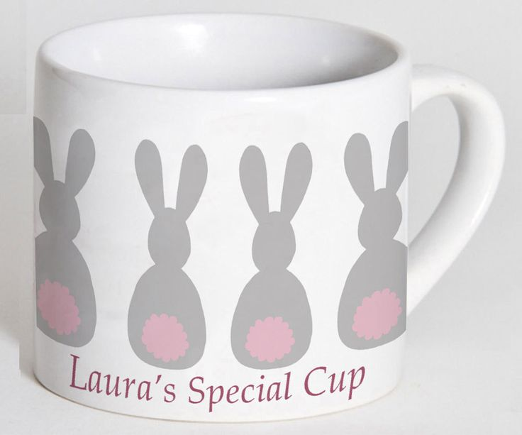 Child's Cup,Toddler Cup, Kids Cup, Christening Gift,Baptism Gift,1st Birthday Gift,Personalised Cup, Bunny Cup, Easter Gifts by TigerlilyprintsLtd on Etsy
