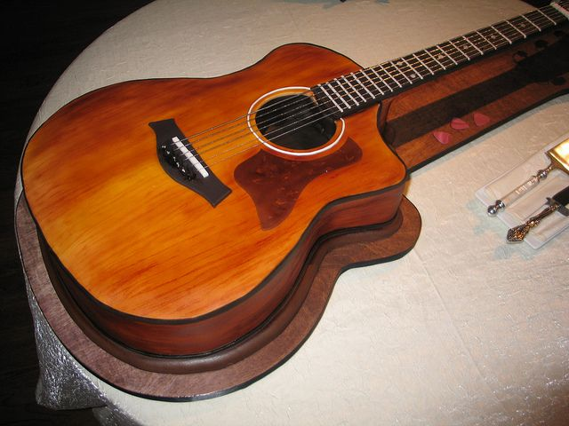 17 best guitar cake images on pinterest guitar cake music cakes and awesome cakes. Black Bedroom Furniture Sets. Home Design Ideas
