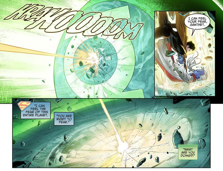 Superman Kills Mogo And Ganthet