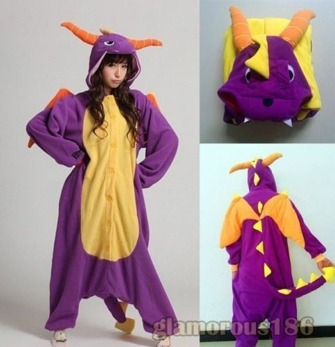 Halloween Bat Onesiee Kigurumi Fancy Dress Costume Pyjamas Sleep wear Bodysuits