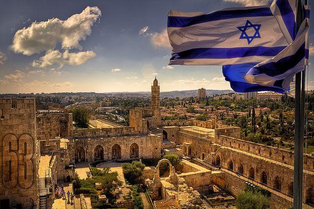 The Tower of David citadel, The old city of Jerusalem, Israel #joe_moshe_lorien