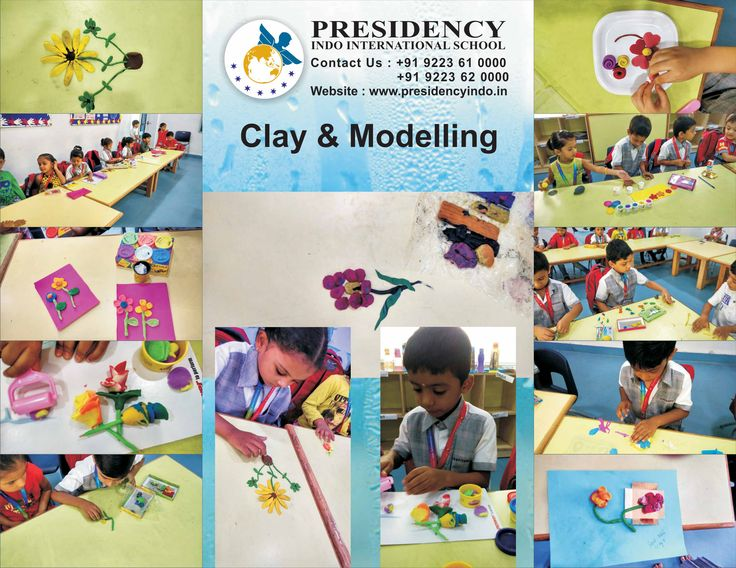 PIIS organized #Clay Modelling #competition for the Pre-Primary Section. The #students to create a flowers or any other item of their choice made out of clay. The students potrayed their #modelling #skills very well.