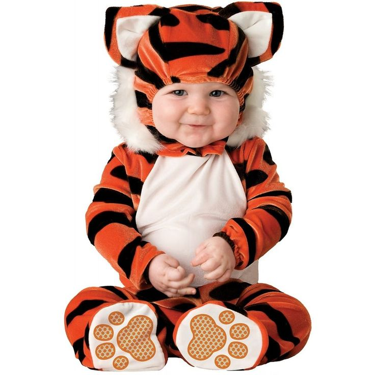 Tiger Costume Baby Cute & Cuddly Halloween Cat Fancy Dress #Incharacter