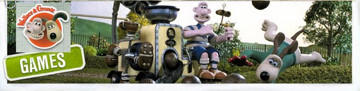Great sites for Young Inventors! Wallace and Gromit & Shaun the Sheep - Livebinder! Full of fun games for young inventors.