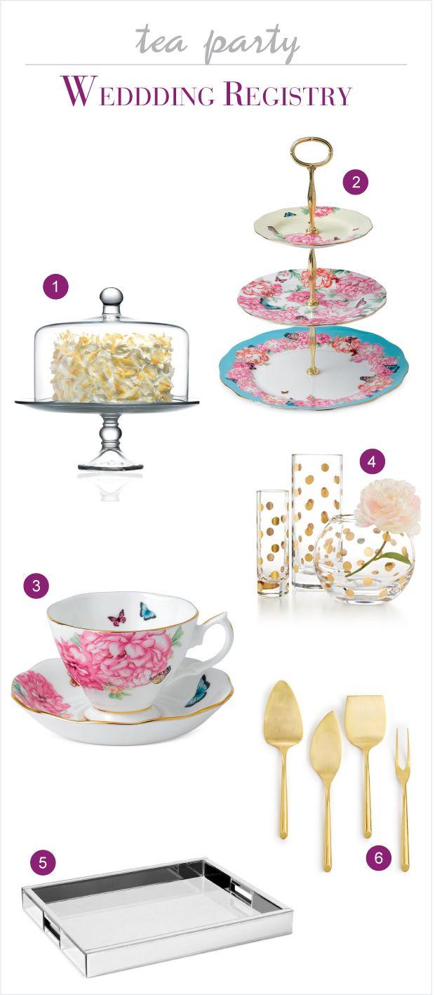 Macy's Wedding Registry for a Tea Party - Get 15% OFF #macysregistry #macyslove