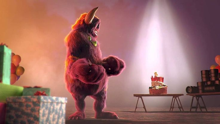 """""""Big Game"""" from The CGBros features Bobo, a lonely monster, set to spend yet another birthday alone, until a cunning hunter throws him a killer surprise party. Created by six talented students from The Animation School."""