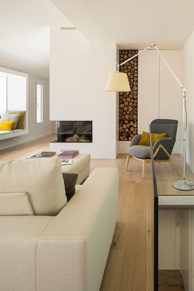 Maison De Vacances - Picture gallery #architecture #interiordesign #fireplace