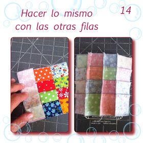 *¿Como unir cuadros pequeñitos de patchwork?* Bienvenido Marzo y llega con su tutorial correspondiente. Este tutorial es para comp...