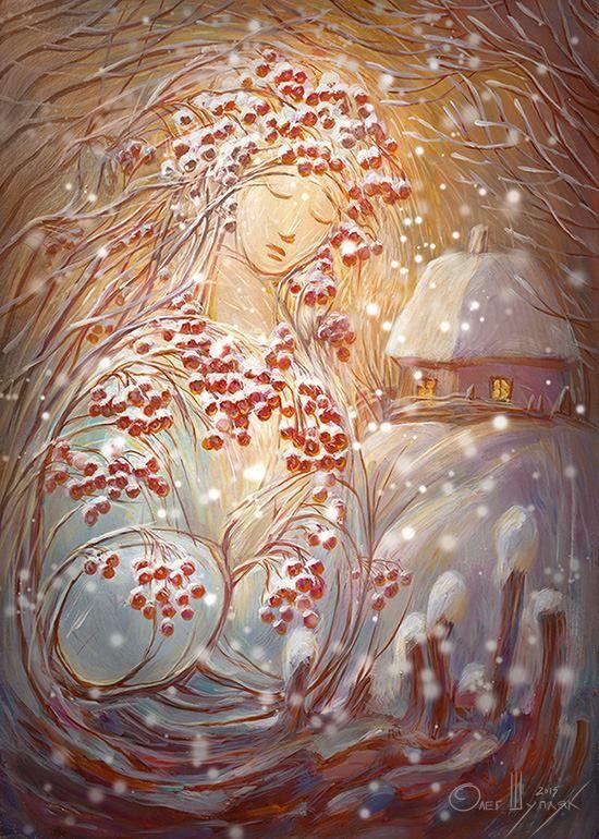 Dreaming guelder roseof Oleh Shuplyak , Ukraine Сон Калини / Олег Шупляк /, from Iryna