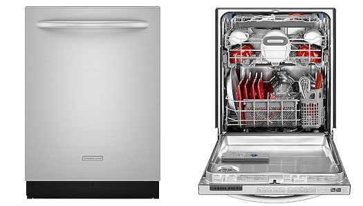 Stainless Steel Dishwasher: Kitchenaid Stainless Steel Dishwasher ...