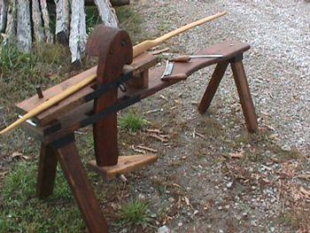 The Bow Horse Bowbuilding Vise