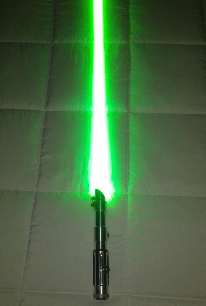 Star Wars Lightsaber Ultrasabers Tri Cree Arctic Blue Plus Green