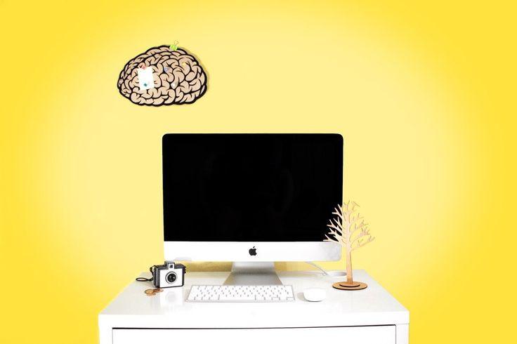 """Доска для напоминаний """"Мозги""""."""