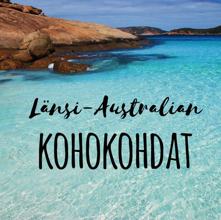 Näitä paikkoja Länsi-Australiassa ei kannata missata! | Muuttolintu.com #matkailu #loma #matkustaminen #reissu #reissaaminen