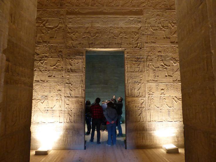 Inside Philae temple!