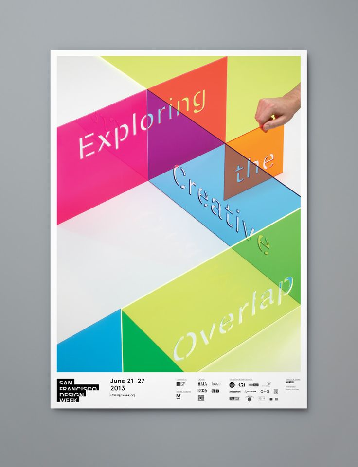 San Francsico Design Week 2013 poster / by Manual