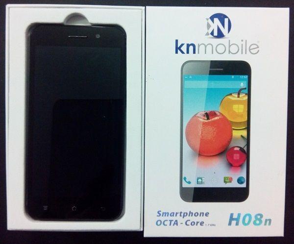 SMARTPHONE - KN-MOBILE - H08n - OCTA CORE - NERO - USATO 2 ANNI DI GARANZIA